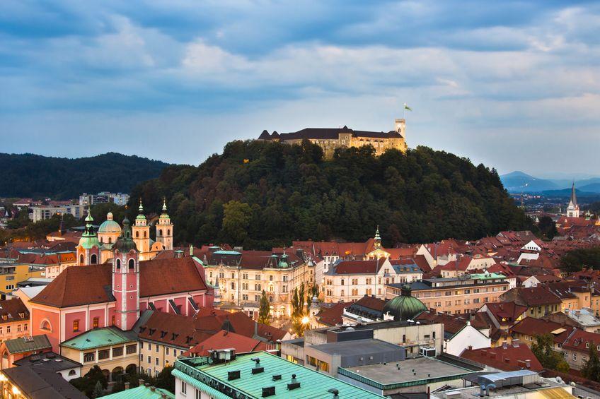 10668248 - panoramic view of ljubljana, capital of slovenia